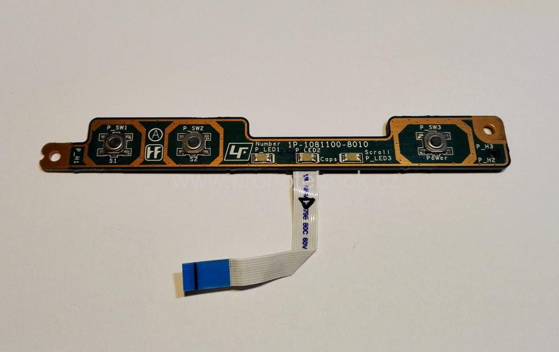 Power buton board  Sony VAIO VGN-NR38Z PCG-7131M, M722 SWX-279