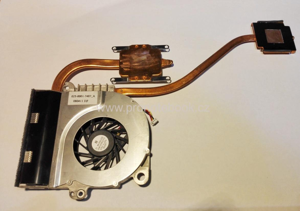 Sony Vaio VGN-NR31Z Cooling Fan 023-0001-7487_A