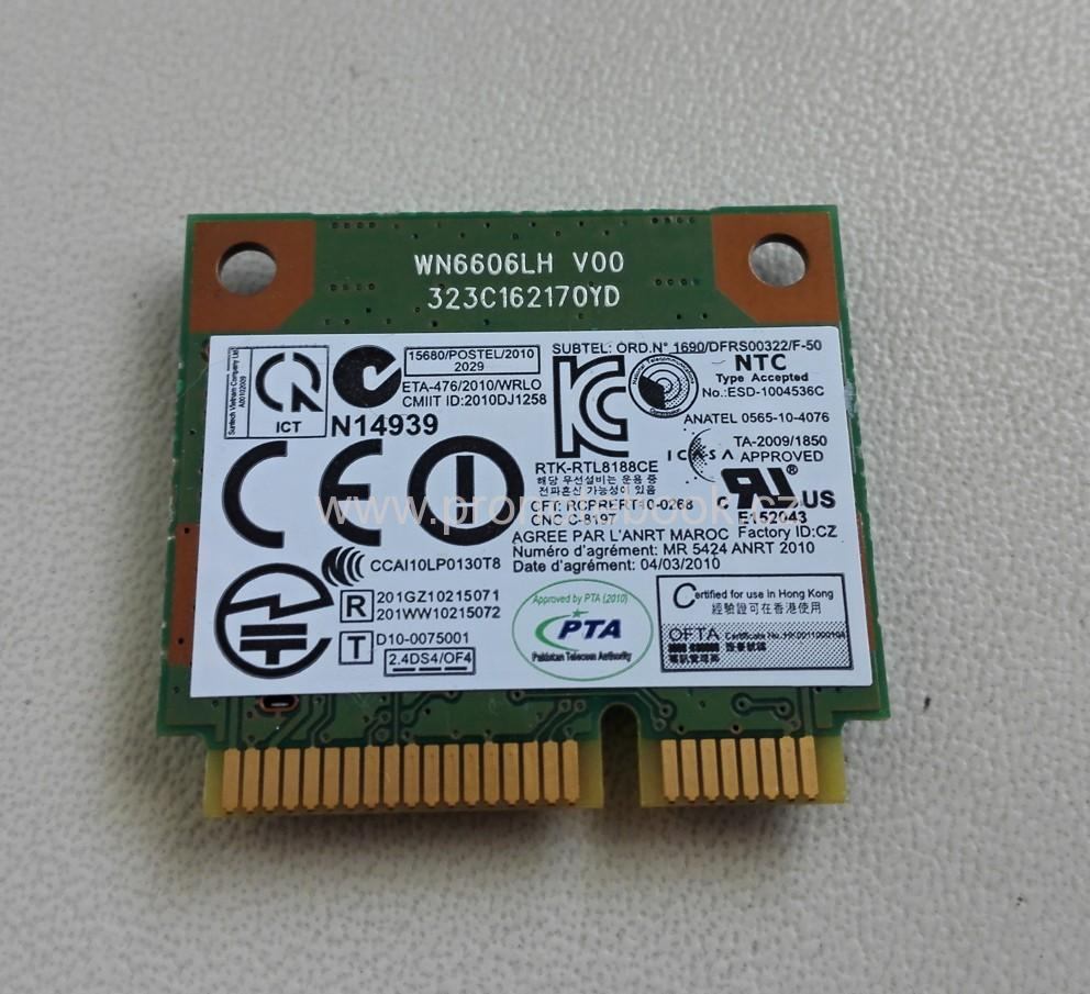 RealTek RTL8188CE Half Mini PCIe Wireless Wlan Card 802.11