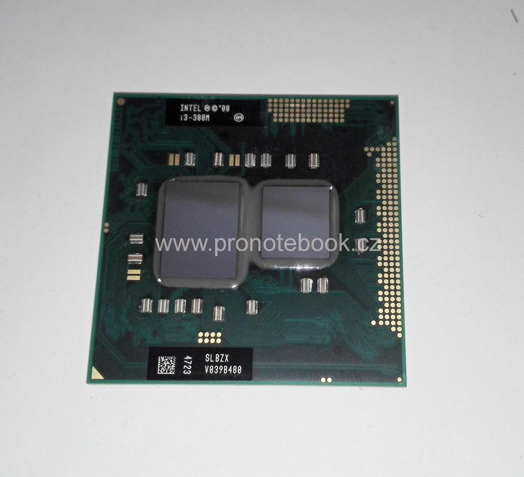 Intel® Core™ i3-380M Processor  (3M Cache, 2.53 GHz) SLBZX SKLADEM