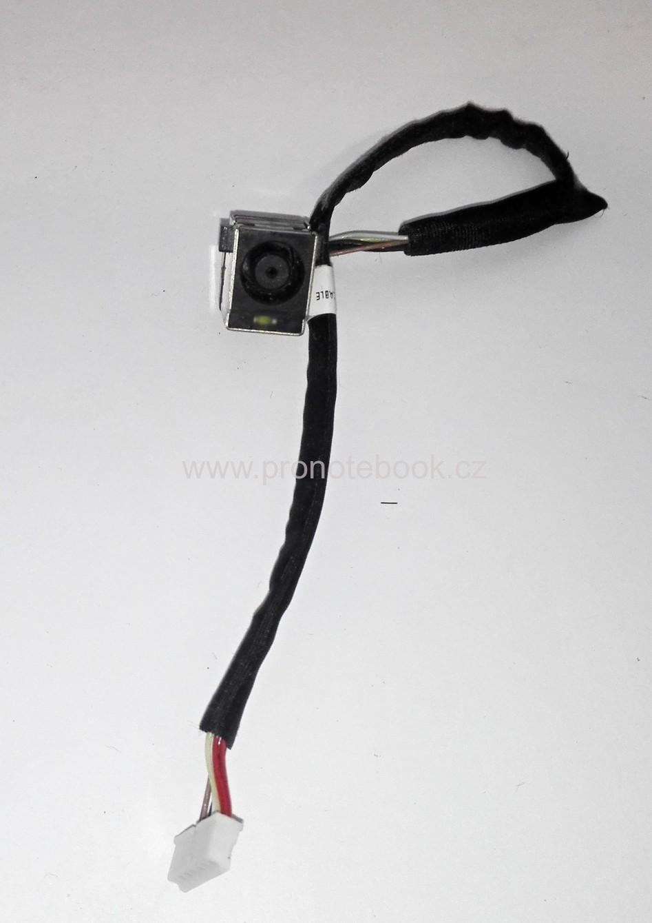 HP ProBook 4520s DC Power Jack DC-IN with Cable 50.4GK08.032