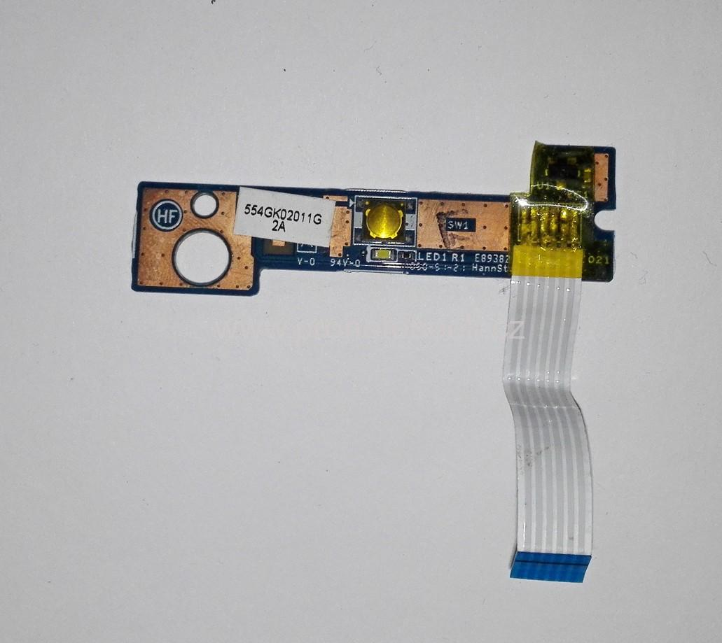 HP ProBook 4520s power button board and cable 50.4GK06.001