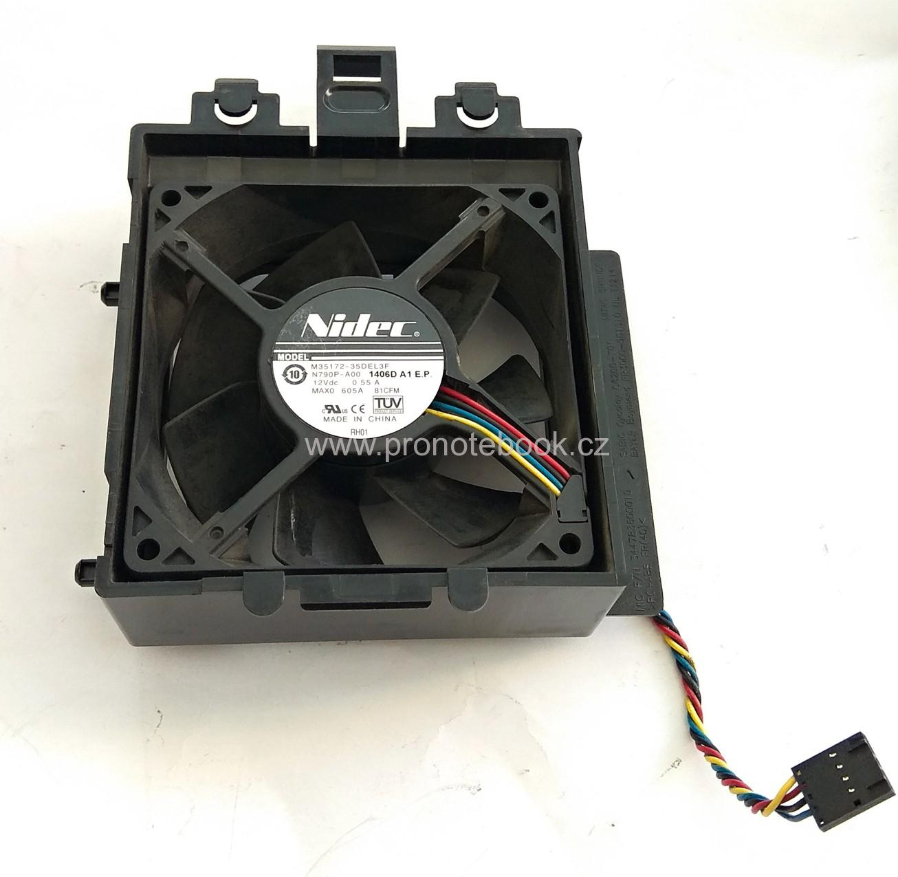 Nidec PowerEdge T110 fan M35172-35DEL3F, N790P-A00, 1406D A1 E.P.