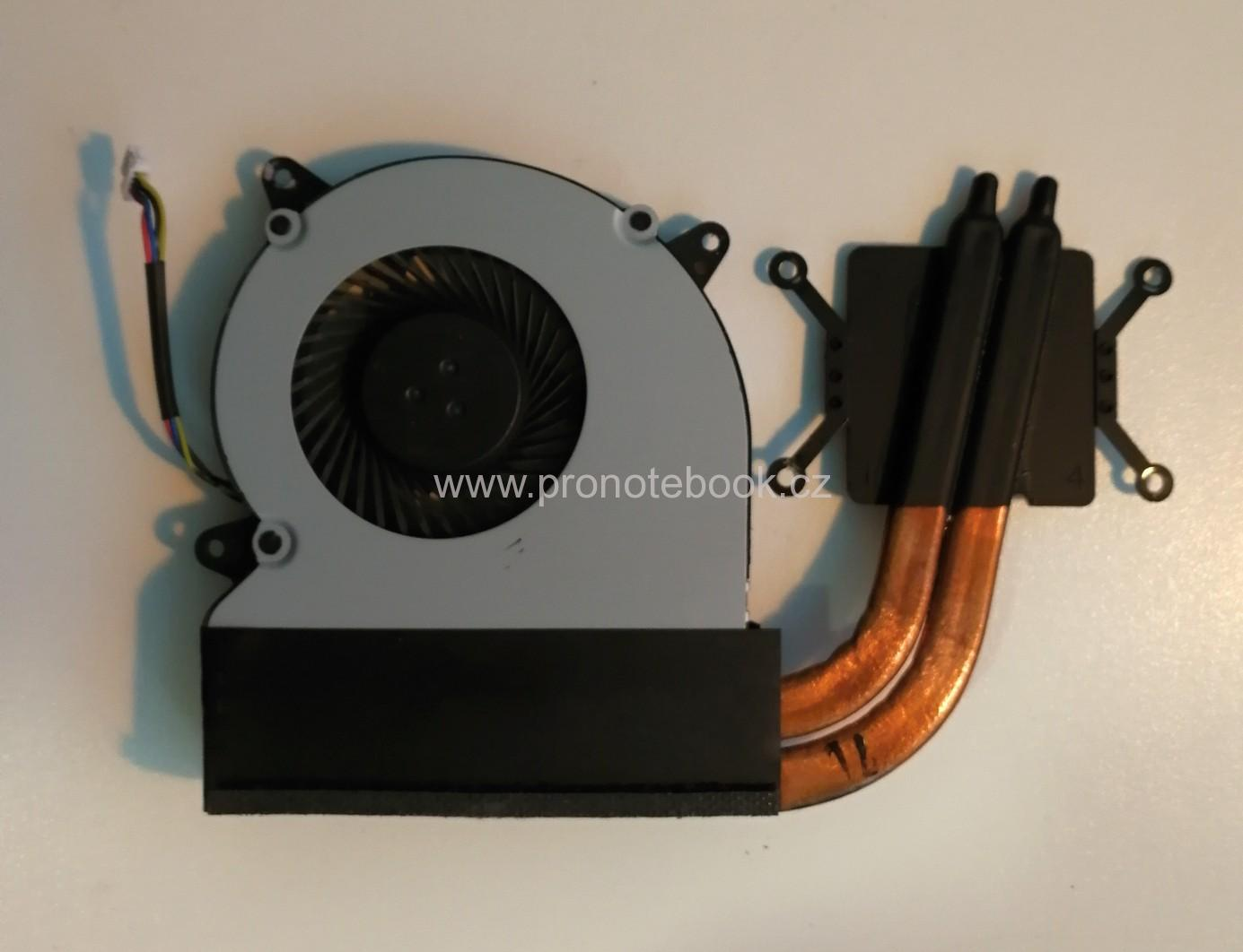Original Asus N750JV CPU heatsink FAN 13NB0201AM1411, MF60070V1-C180-S9A, 4 pin