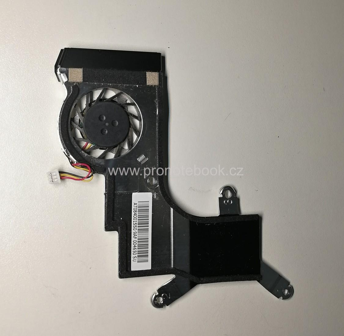 Acer Aspire One D250 (KAV60)  fan + heatsink AT084001SS0, GC053507VH-A