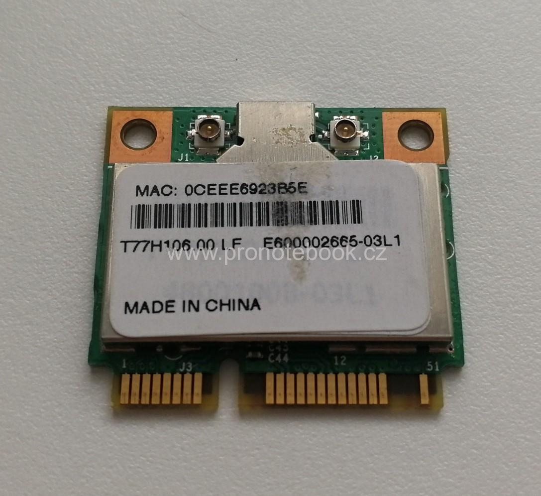 Broadcom BCM94312HMG, 582562-002,  54 Mbps 802.11 b/g Wireless LAN Mini (PCIe) SKLADEM