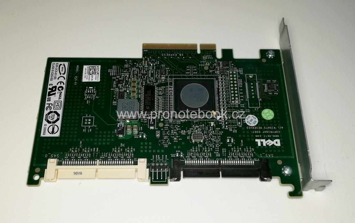 Dell 0JW063 PowerEdge PERC 6/iR SAS RAID Controller Card PCI-e x8, UCS-61, YK838