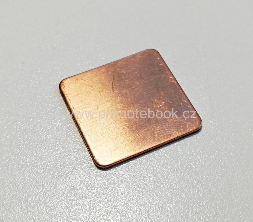 Cu thermal pad 20x20x1mm, 400W/(m.K)