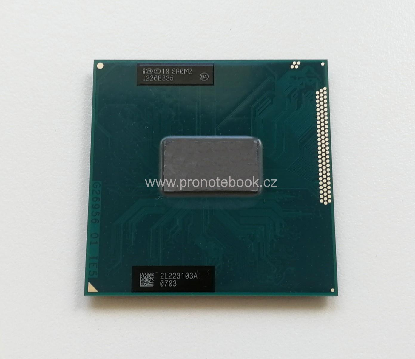 Intel Core i5-3210M, 3MB, 2.5 - 3.1 GHz, PGA988B, AW8063801032301, SR0MZ