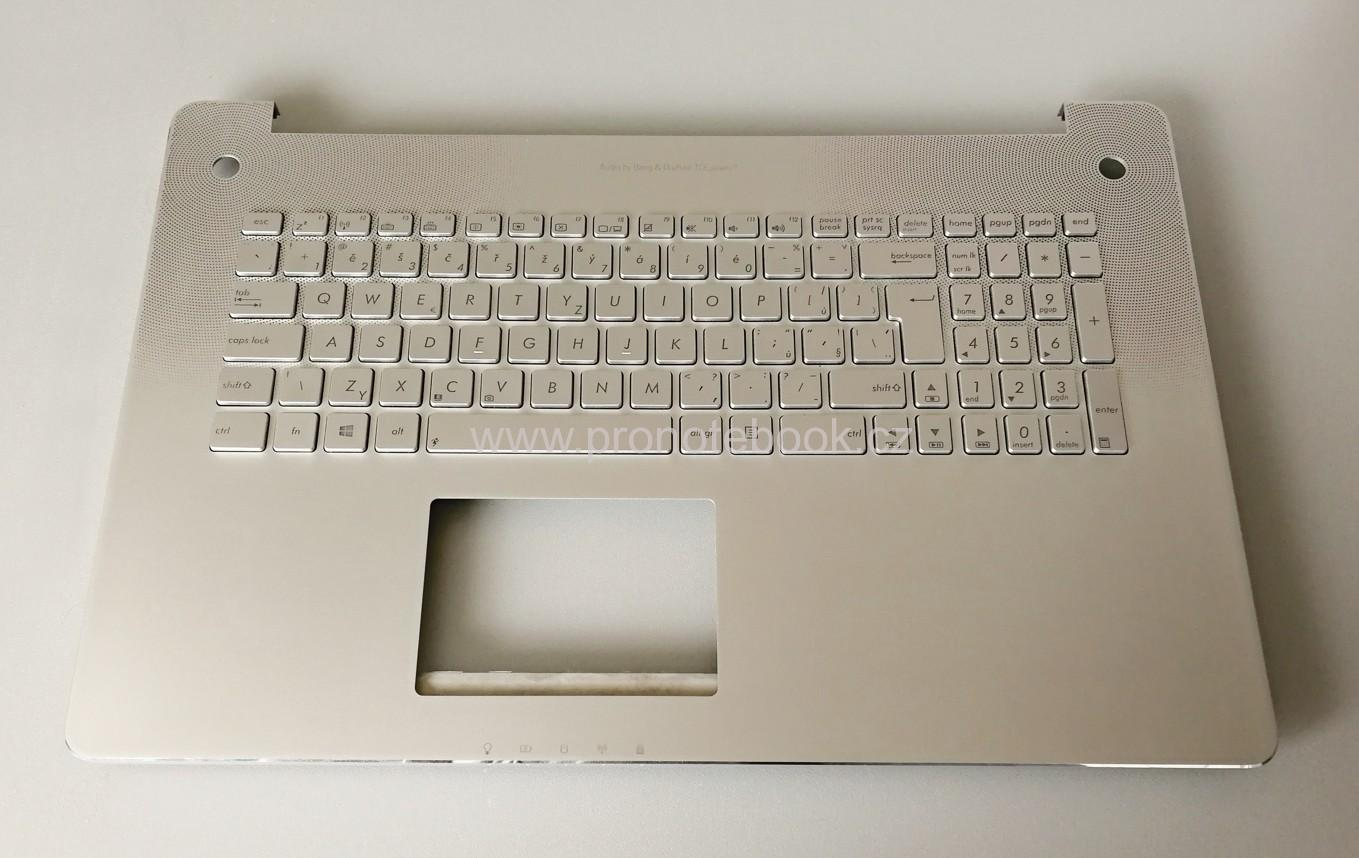 Asus N750J palmrest, backlight keyboard 13NB0201AM0411, 0KNB0-6625CZ00