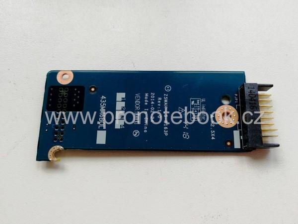 Acer battery connector board LS-B163P 435MM 435MM6BOL01 SKLADEM
