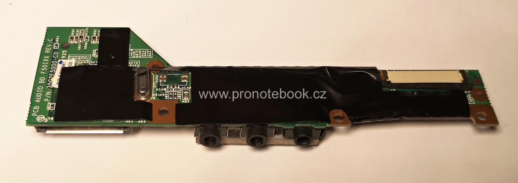 Audio Connector Reader Card Fujitsu Amilo Pi3540 3525 35G2F5000-C0	SKLADEM