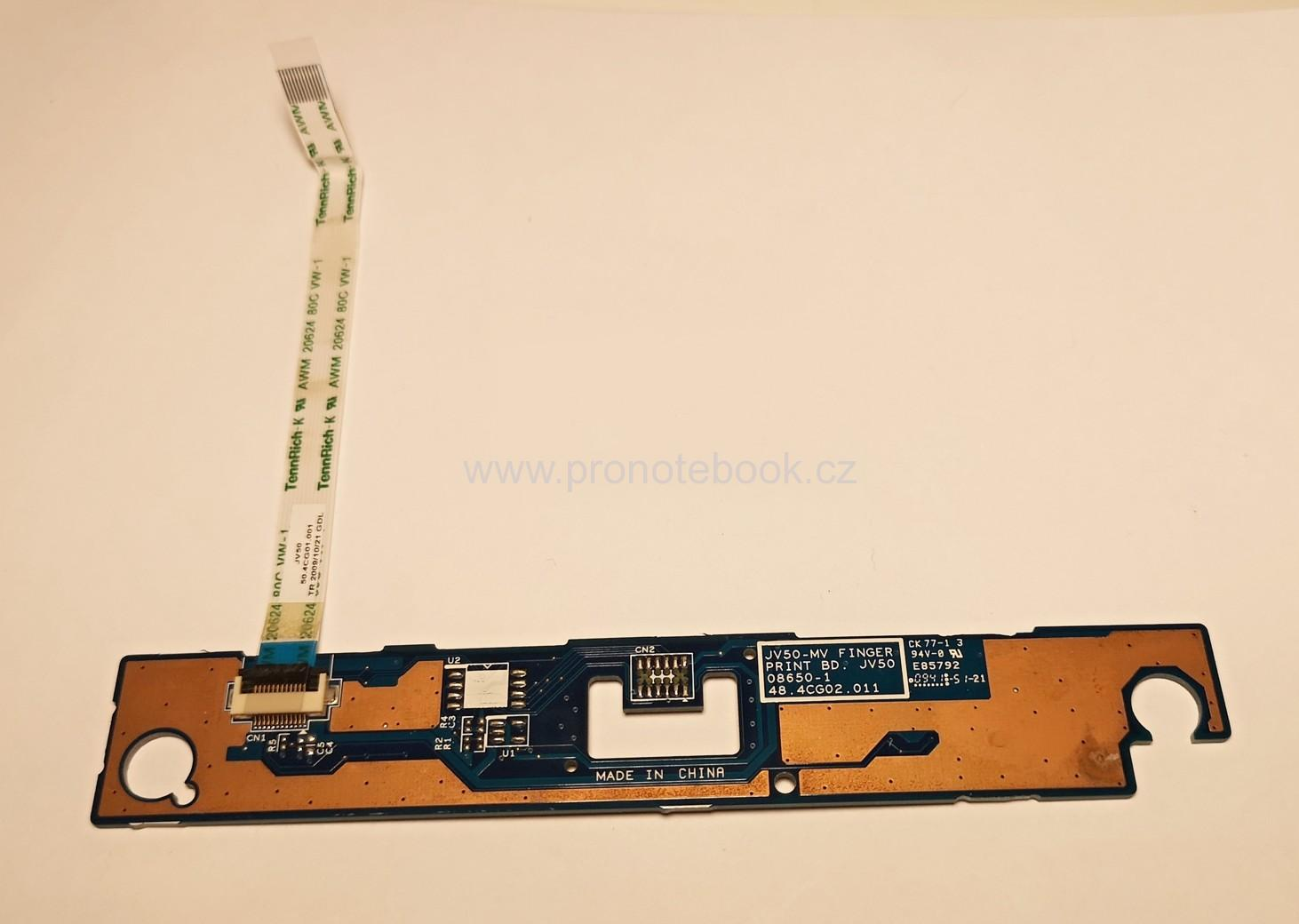 Acer Aspire 5740 JV50-MV FINGER PRINT BD touchpad button board cable 48.4CG02.011 SKLADEM