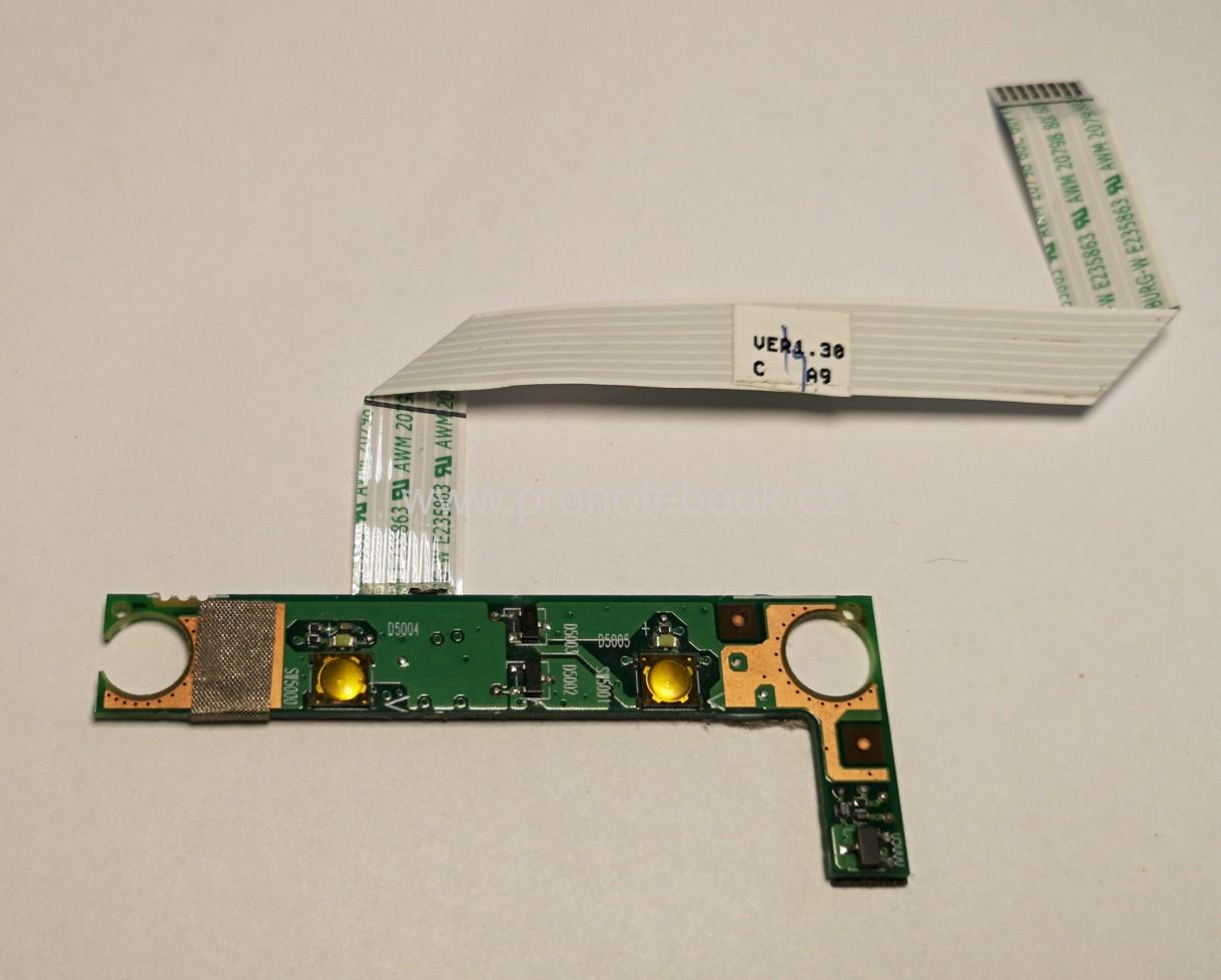 HP ProBook 4510s 4515S Power Button board 6050A2252901 SKLADEM