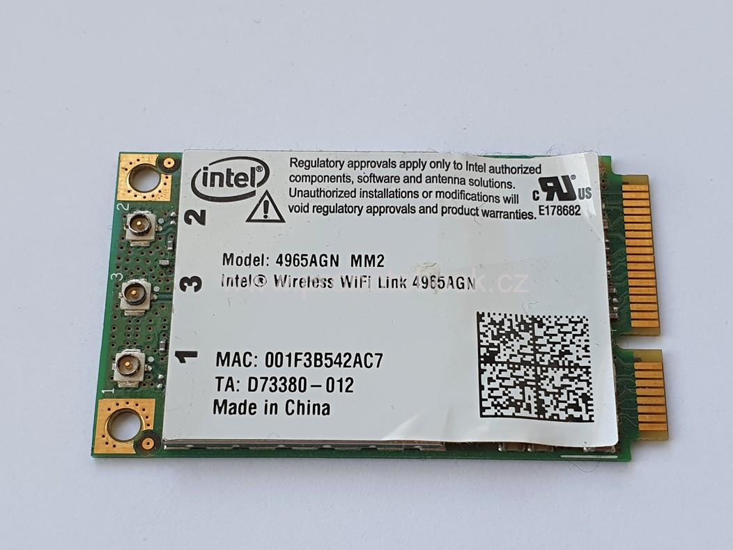 Intel WiFi Link 4965AGN MM2 300Mbps Wireless Mini PCIe Card 802.11abgn SKLADEM