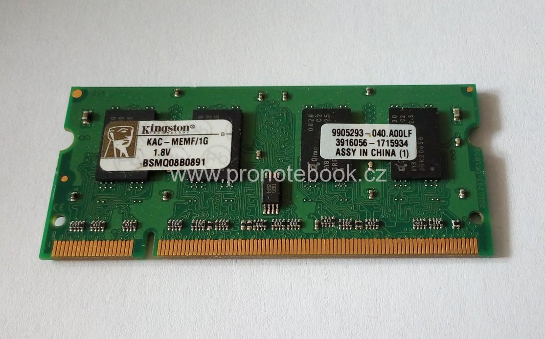 Kingston 1GB DDR2 667MHz CL5 ACER, KAC-MEMF/1G