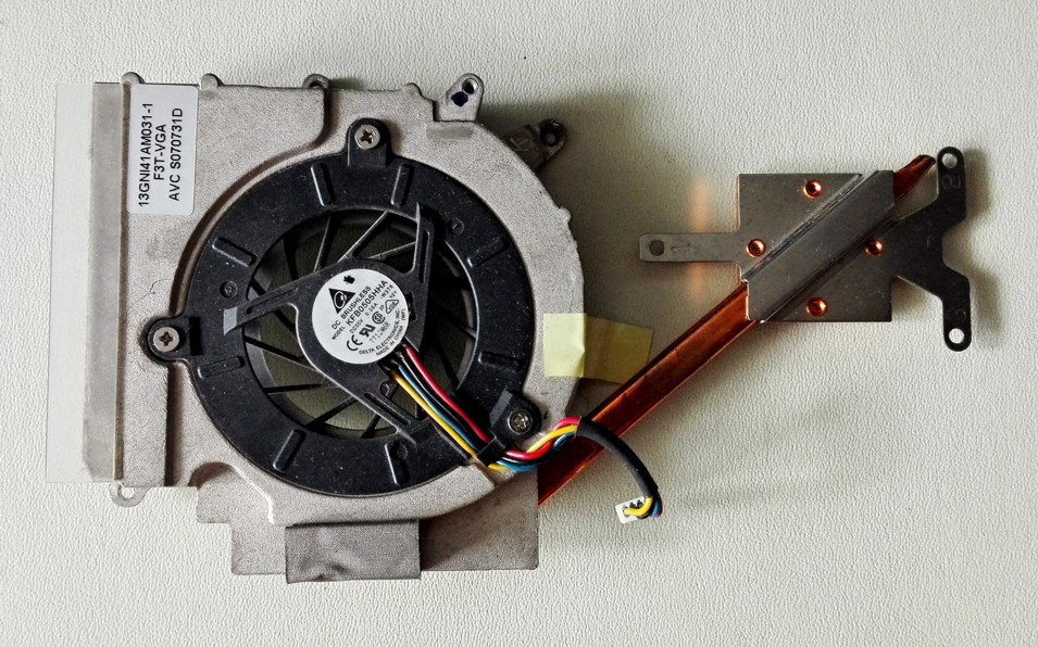 Asus F3K VGA HEATSINK + FAN 13GNI41AM031-1