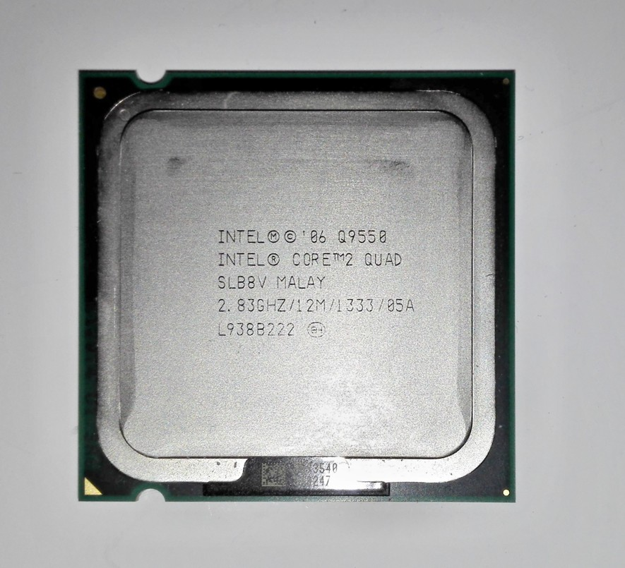 Intel Core 2 Quad Q9550 (12MB Cache, 2.83 GHz, BX80569Q9550