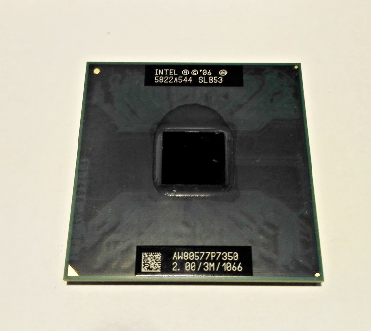 Intel Core 2 Duo P7350,  SLB53, 2.0GHz, 3MB cache, AW80577SH0413M