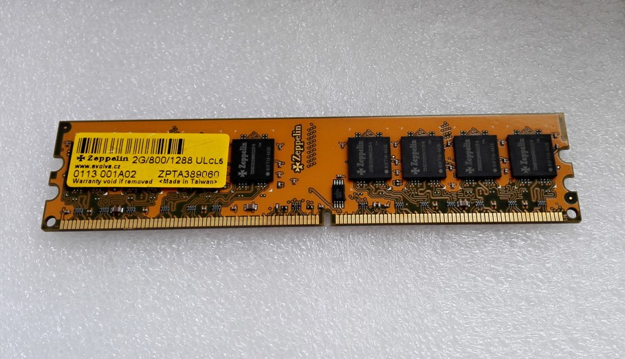 ZEPPELIN 2GB DDR2 2G/800/1288 UL CL5