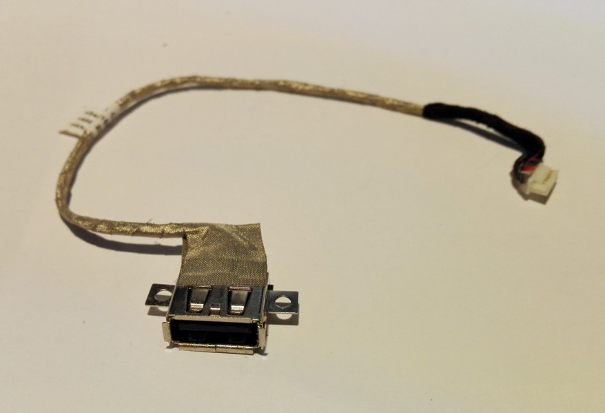 Asus X54C single USB port cable 14004-00190000. 14004-00190100, K54LY USB CABLE