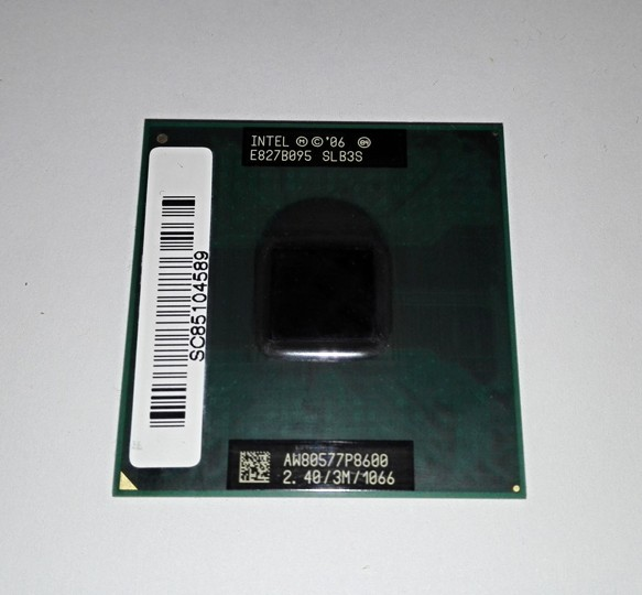Intel Core 2 Duo P8600, SBL3S, AW80577P8600,2.4GHz, 3MB cache