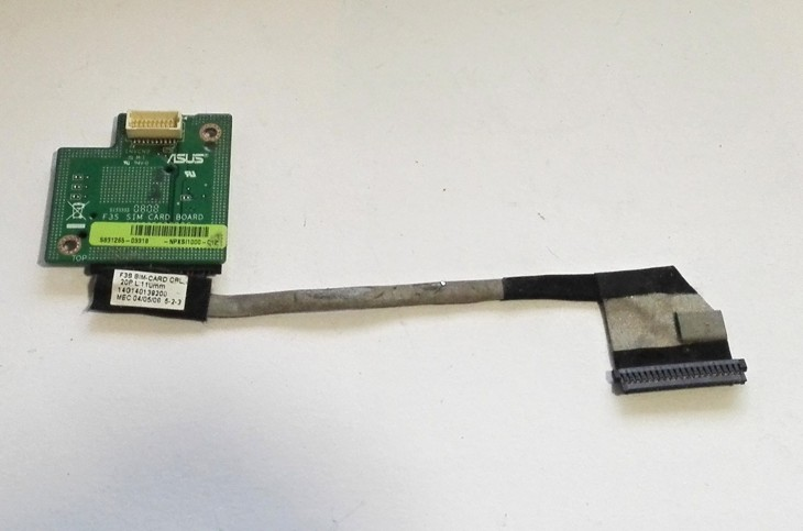 ASUS SIM card board, cable 14G140139200