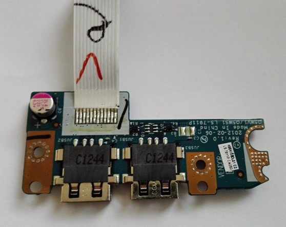 Acer Aspire E1-531 USB port board with cable  LS-7911P