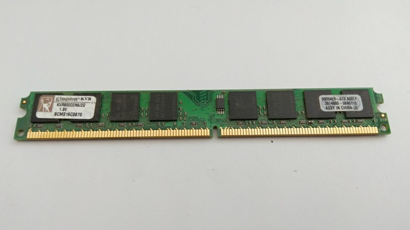Kingston DDR2 2GB 800MHz CL6 KVR800D2N6/2G SKLADEM