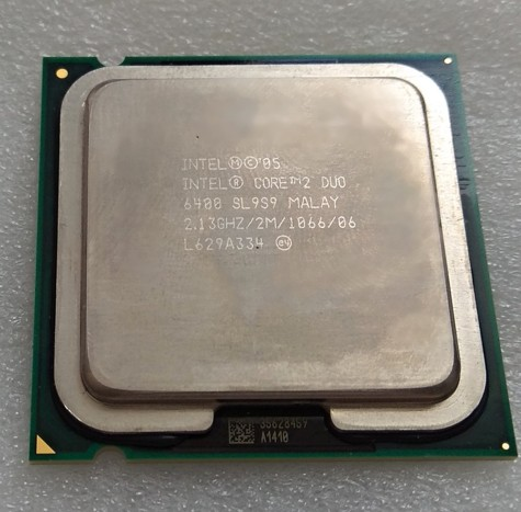 Intel® Core™2 DuoE6400 2M Cache, 2.13 GHz, 1066 MHz FSB, HH80557PH0462M, BX80557