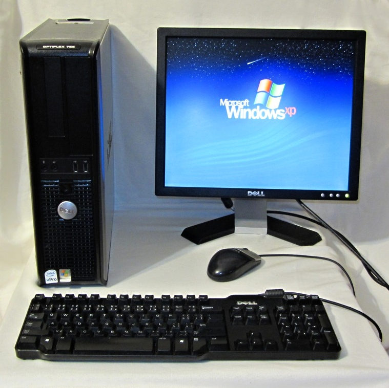 "Dell Optiplex 755 - E6550, RAM 2GB, HDD 80GB, LCD 17"", OS XP Pro"