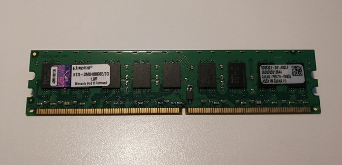 Kingston 2GB 800MHz CL6 ECC KTD-DM8400C6E/2G