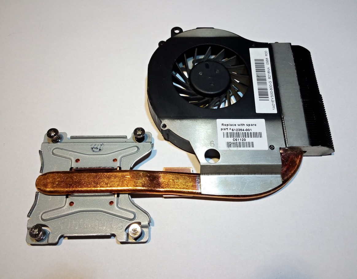 HP G42 COMPAQ CPU Cooling Fan 612354-001