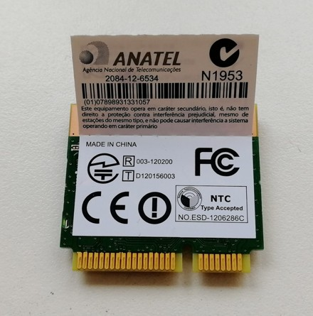 Atheros 150Mbps + BT 4.0 mini PCI-Express-wlan ‎QCWB335, 689457-001, CN-05GC50-C1506-4BP-0GRE-A00