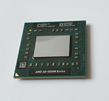 AMD A8-Series A8-4500M AM4500DEC44HJ FS1r2 1.9 GHz – 2.8GHz 4MB Radeon HD 7640G SKLADEM