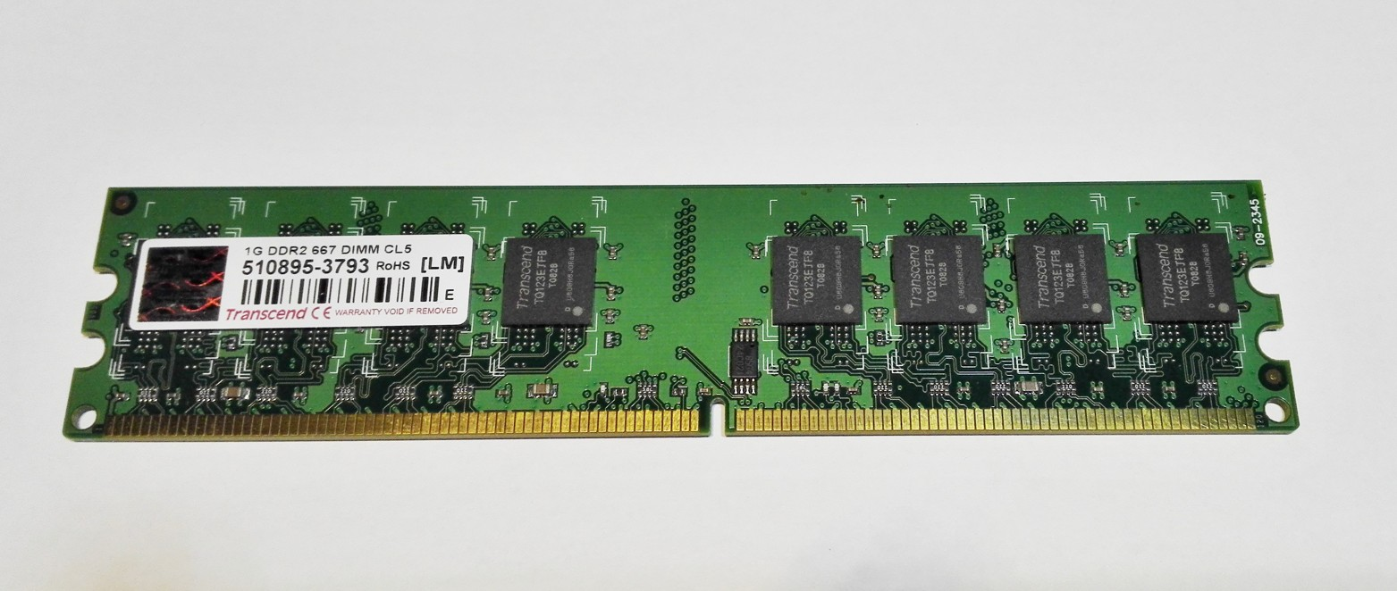 Transcend 1GB DDR2 667MHz CL5