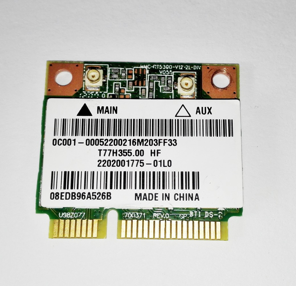 Asus RT5390 WIFI mini pci-e